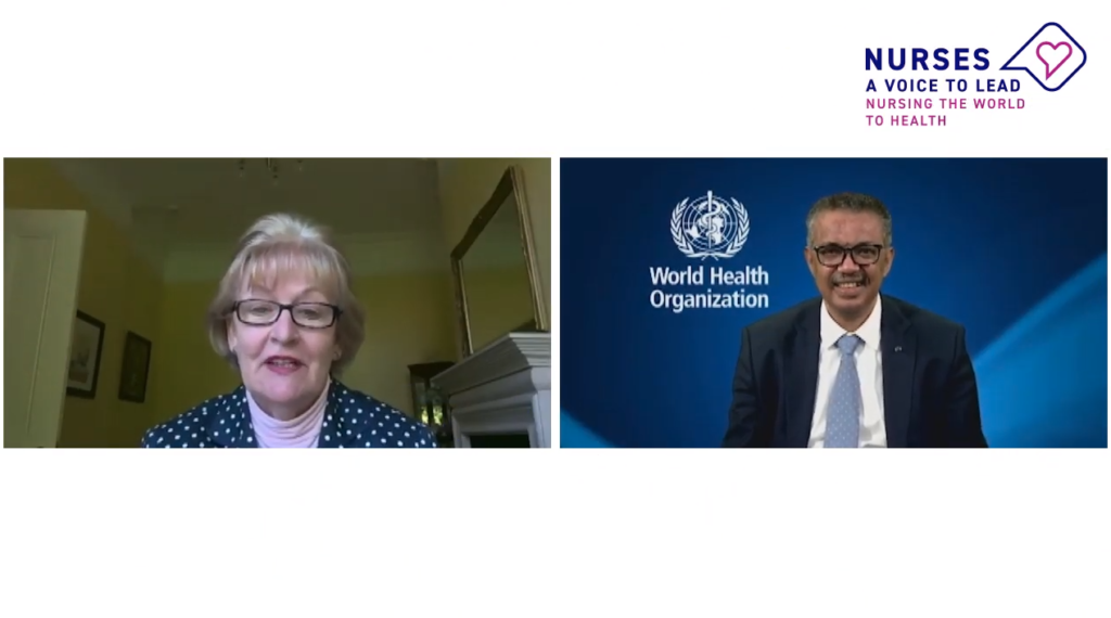 WHO and ICN - committed to Nursing the World to Health ...